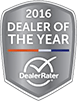 Dealer of the Year 2016